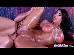 Save as 3gp HD - (August Taylor) Big Oiled Butt Girl Love Anal Hardcore Sex clip-07