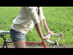 Liona Riding My Bike