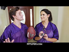 Mom and Son Fuck After Football Victory - Penny...
