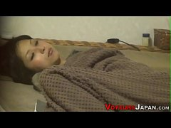 Japanese brunette climax