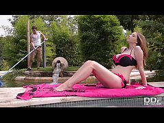 Busty Pool Goddess Lucie Wild Fucks Hard by the...