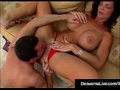 Busty Cougar Deauxma Fucks A Hard Boy Toy Almos...