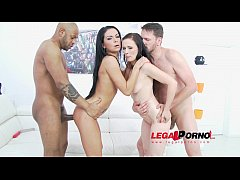 Joanna Black & Inga Devil anal & DP 4some for L...