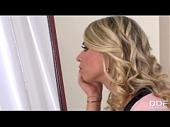 Hot glamour blondie Chloé Lacourt is ready for ...