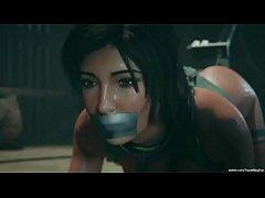 Lara Croft BDSM fucked and creampied 2020