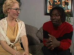 Hot white blonde mature Dalny takes Byrons bbc ...