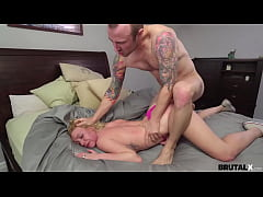 BrutalX - Stepsis Dixie Lynn throating and brut...