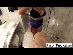 Girlfriend Experience with Busty Alison Tyler i...