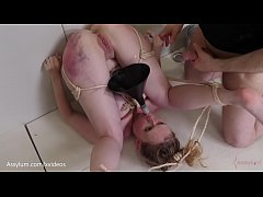 Hot blond with big ass gets a bruising while as...