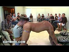 GAYWIRE - Sausage Party House Orgy with Big Dic...