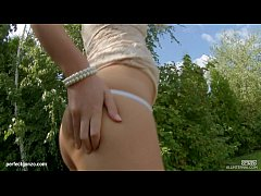 Charlyse Bella in gonzo creampie sex scene by A...