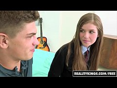 (Lara Brookes) - Schoolgirl gets pounded in her...