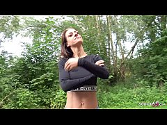 GERMAN SCOUT - Instagram Fitness Teen Model aus...