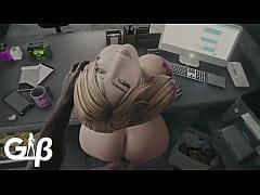 Samus Aran Secretary Hot Sex Video Made by Gene...