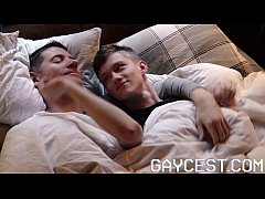 GAYCEST - Boy fucked by his old man's big dick