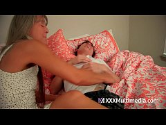 MILF Mom Tickling Son To Get Him To Confess
