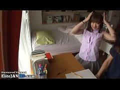 Clip sex Japanese home teacher fucking shy student
