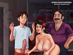 Summertime Saga[0.20] | Cuckold husband watches...