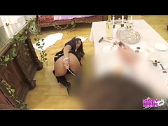Anita B Part 1 - Submissive ANAL MAID serves he...