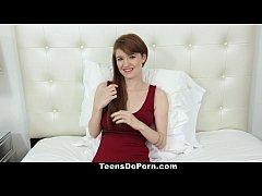 TeensDoPorn - Busty Red Head (Abbey Rain's) Por...