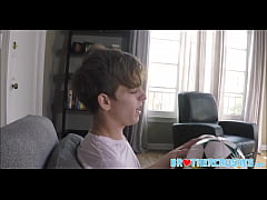 Athletic Twink Step Brother Jerks Off With And ...