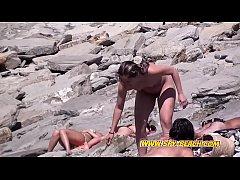 Awesome Nudist Females Voyeur Amateur Spy Beach...