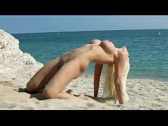 Katya Sambuka - on the beach