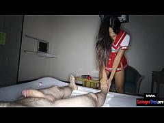 Asian schoolgirl amateur teen cutie fucked in a...