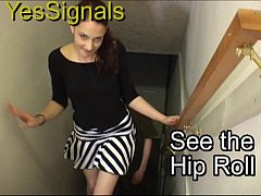 YesSignals - Brunette has sex with a guy she me...