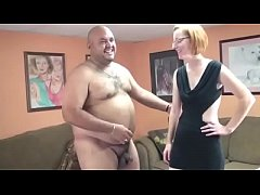 Dumpy MILF Fucks A Fat Mans Little Dick