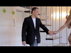 Young Courtesans - Perky teen Alexis Crystal tr...