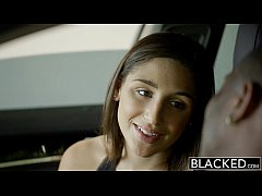 BLACKED Big Booty Girl Abella Danger Worships B...