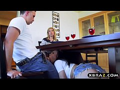 Teen with an amazing body makes husband cheat o...