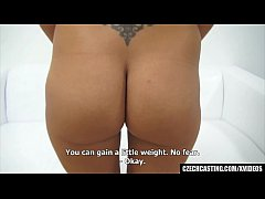 Beautiful shy amateur let stranger to massage h...