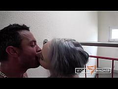 Jessii van Riva: Banged & cum-fed in the stairwell (PT.2)! WOLFWAGNER.COM