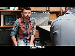 YoungPerps - Twink shoplifter boy barebacked by...