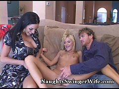 Teen Babe In Naughty Threesome With Older Couple