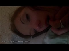 amateur wife fucked while taking a dildo in her...