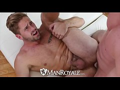 ManRoyale Muscle Wesley Woods fucks pool guy Tr...