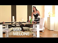 Flexible French Maid gets her Ass Double Penetr...