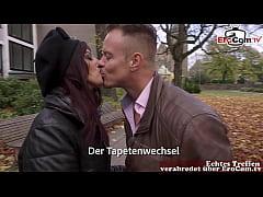 deutschs verliebtes paar mit arabischer türkisc...