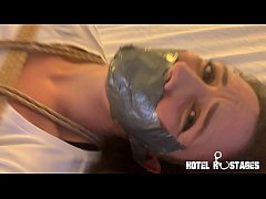 Hogtied Slut Anally Penetrated