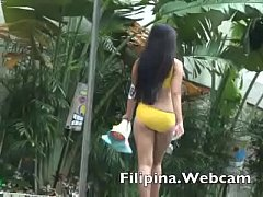 Filipina.webcam webcam girls sexy bikini pool p...