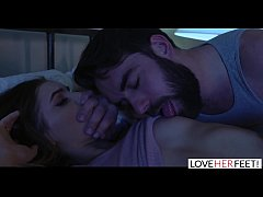 LoveHerFeet - Creepy Stepdad Takes Advantage of...
