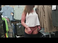 MILF Public Nudity at The Walmart - Big Titties...