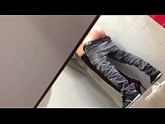 SpyCam - a couple in a public bathroom - 100web...