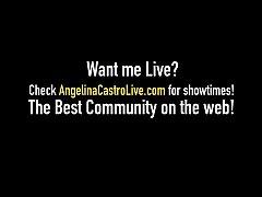 Dick Sucking BBW Angelina Castro Wraps Phat Lip...