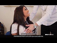 PORNO ACADEMIE – Curvy Kesha Ortega wild fuck w...