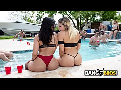 BANGBROS - Pool Side Fuck Fest With The Notorio...