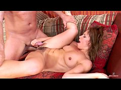 Szilvia Lauren is a hot, horny and hairy milf h...